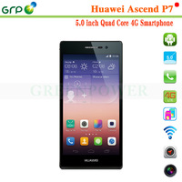 Alibaba android mobile phone Huawei P7 Kirin 910T Quad cores 5 inch 16GB android 4.4
