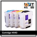For hp940 printer ink cartridge refillable for HP Officejet Pro 8000 A809a