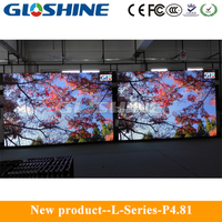Gloshine L-P12 outdoor LED mesh screen,LED mesh panel,LED mesh module