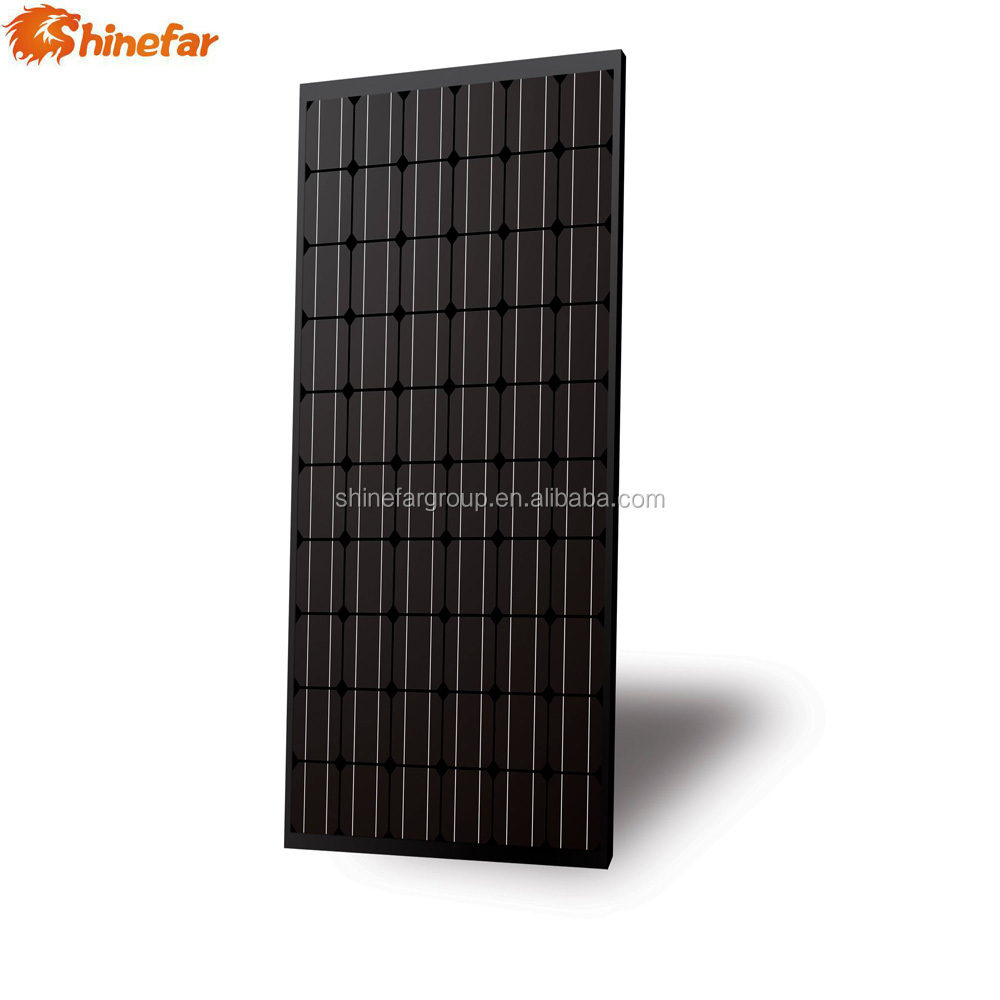 New-tech all black solar panel mono 250w 260w solar modules pv panel malaysia price