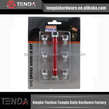 Spoke Wrench Set 9pc,wheel repair tools