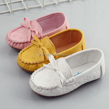 KS30583A New arrive kids girls candy color casual moccasins shoes fashion kids loafers