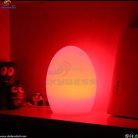 led egg for Garden Decorative /Magic Colorful Changing Egg LED Light/Popular illuminated led light for decoration