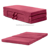Simple Style Easy Carry Folding Memory Foam Mattress for Camping