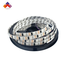 White/Black PCB dc5v 9w 32leds 5050 smd rgb ws2801 flexible led strip