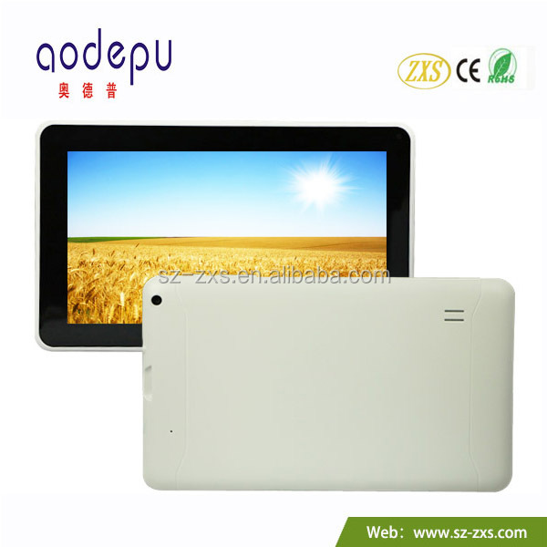 ZXS-9-W1 9 inch Dual Core Android Tablet PC Slim Pad;High Resolution 9 inch Android Tablet PC;Android Tablet SD Card 32GB