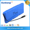 12v battery price 6600mah rechargeable 12v li ion battery