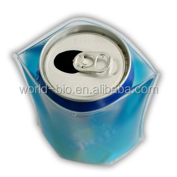Reusable Drink Can PVC Cooler