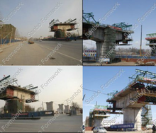 Traveler Formwork for Beijing-Shijiazhuang passenger dedicated railway line