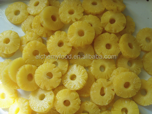 2016 new crops frozen pineapple ring and frozen fruits for hot sale with good taste
