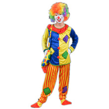 Fancy Dress Stage Costume Halloween Clown Circus Costume