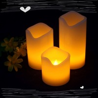 Guangdong Guangzhou supplier real wax candle LED/ supplier cheap candle LED /supplier wax candle LED