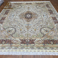 9x12 Extra large living room floral carpet handmade persian carpets