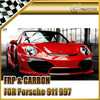For Porsche 911 997 Anibal Full Wide Arch Carbon Fiber Body Kit