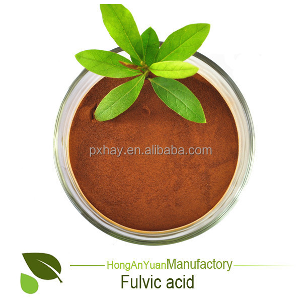 Super Potassium Humate with excellent solubility / high content Humic acid + Fulvic Acid , Potassium Humate powder / Flakes