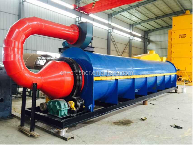 High quality and large capacity tube wood sawdust dryer