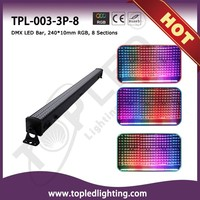 Color Changing DMX 512 240x10mm 36W RGB LED Wall Washer Light