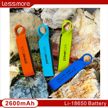 travel products new design hot sale !waterproof power bank, 2200mah,2600mah power bank waterproof best premium gifts