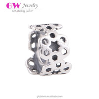 Imitation Silver Jewellery 925 Bead In Mumbai Hollow 2015 Charms T123