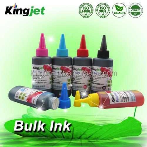 4 or 6 color for Epson Canon HP printer china bulk ink uv digital printer ink refill