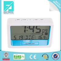 Fupu High Quality digital radio controlled Snooze Light Alarm Clock, Wholesale Household Items