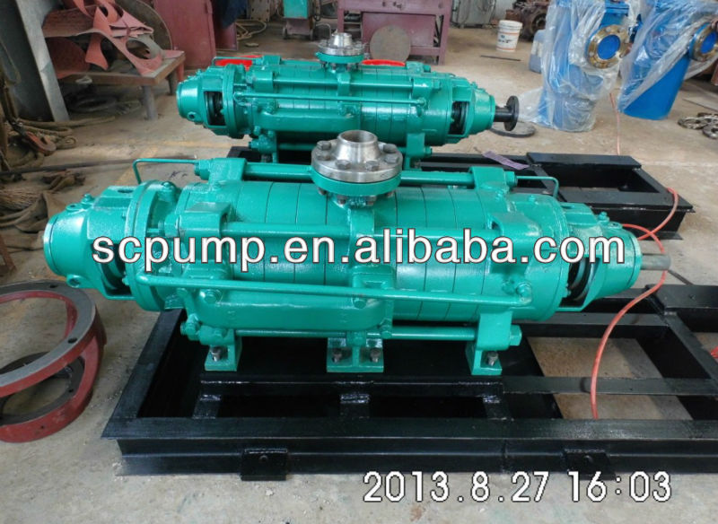 Multistage heavy duty high pressure pump electric motor