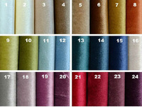 Italian velvet top quality luxury hotel upholstery fabric KTV sofa fabric 300gsm wide 2.8m stage decoration fabric evening suit