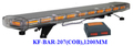 Hot selling Police LED Warnig Light Bar, (KF-BAR-E207,COB,120CM),22 Group 10W/15W COB LED,Super Bright,with controller