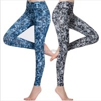 Women Sport Pants Gym Fitness Tights Yoga Running Jogging Harem Compression Trousers High Waist Slim Legging 2016 New Arrival