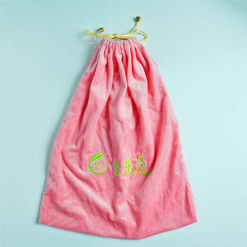 custom deluxe velvet pouch bag for jewelry gifts with drawstring