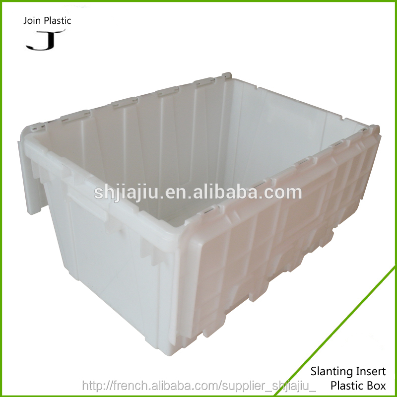caisse en plastique refermable container id de produit. Black Bedroom Furniture Sets. Home Design Ideas