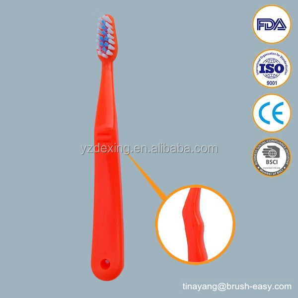 Children Age Group and Soft Bristle Type Baby toothbrush PP Handle