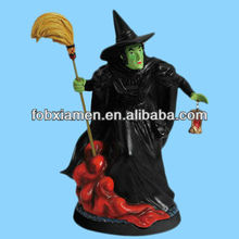 Hot funny wizard of oz halloween witch figurine