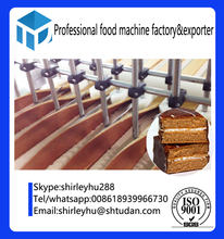 fulll set bakery equipment production line complete automatic cake making machine for swiss roll cake production line