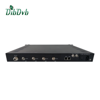 High performance and cost effective digital tv broadcasting equipment DVB-S2 modulator for wireless digital tv transmission solu