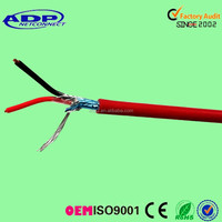 ISO&CE Approved 2 core STP Red Fire Alarm Cable