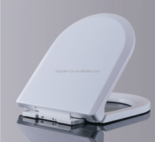HY-105 d squared polypropylene toilet soft close seat cover toilet seats