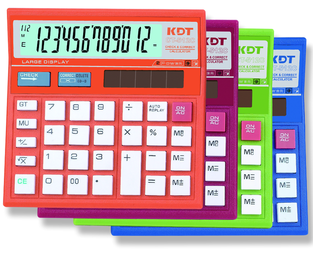 CT-512C 99 steps electronic digital calculator with wholesale