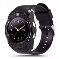 Hot sell round screen bluetooth smart watch phone pedometer camera smart watch and phone with sim card