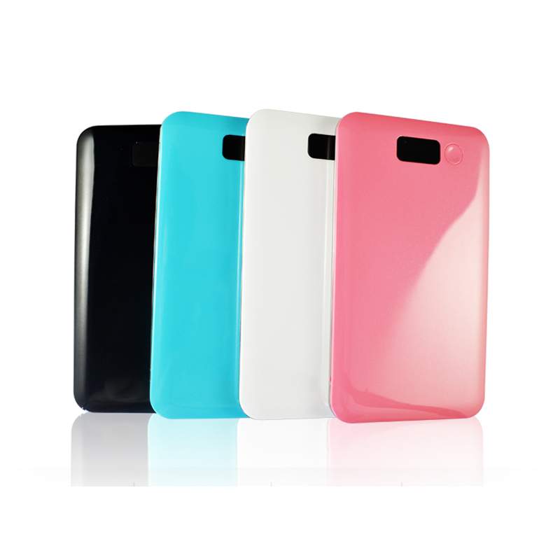 Top Quality 4000Mah Fashion Abs Plastic Polymer Battery Rohs Power Bank Instructions