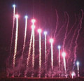 "2"" wave tiger tail pyrotechnics firework show for celebration fireworks"