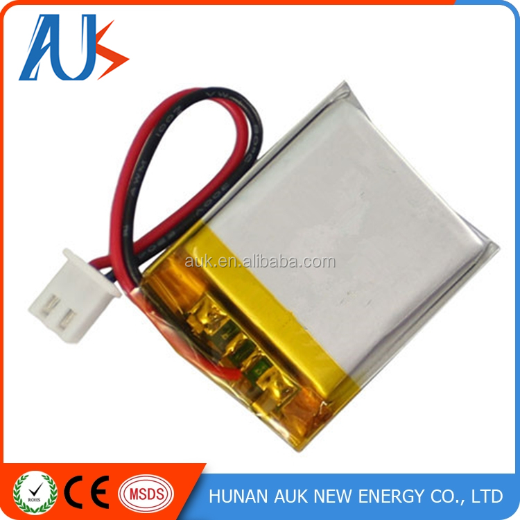 China Supplier IEC62133 UN38.3 Approved the lithium ion polymer battery 3.7v 1100mah 703244/753048