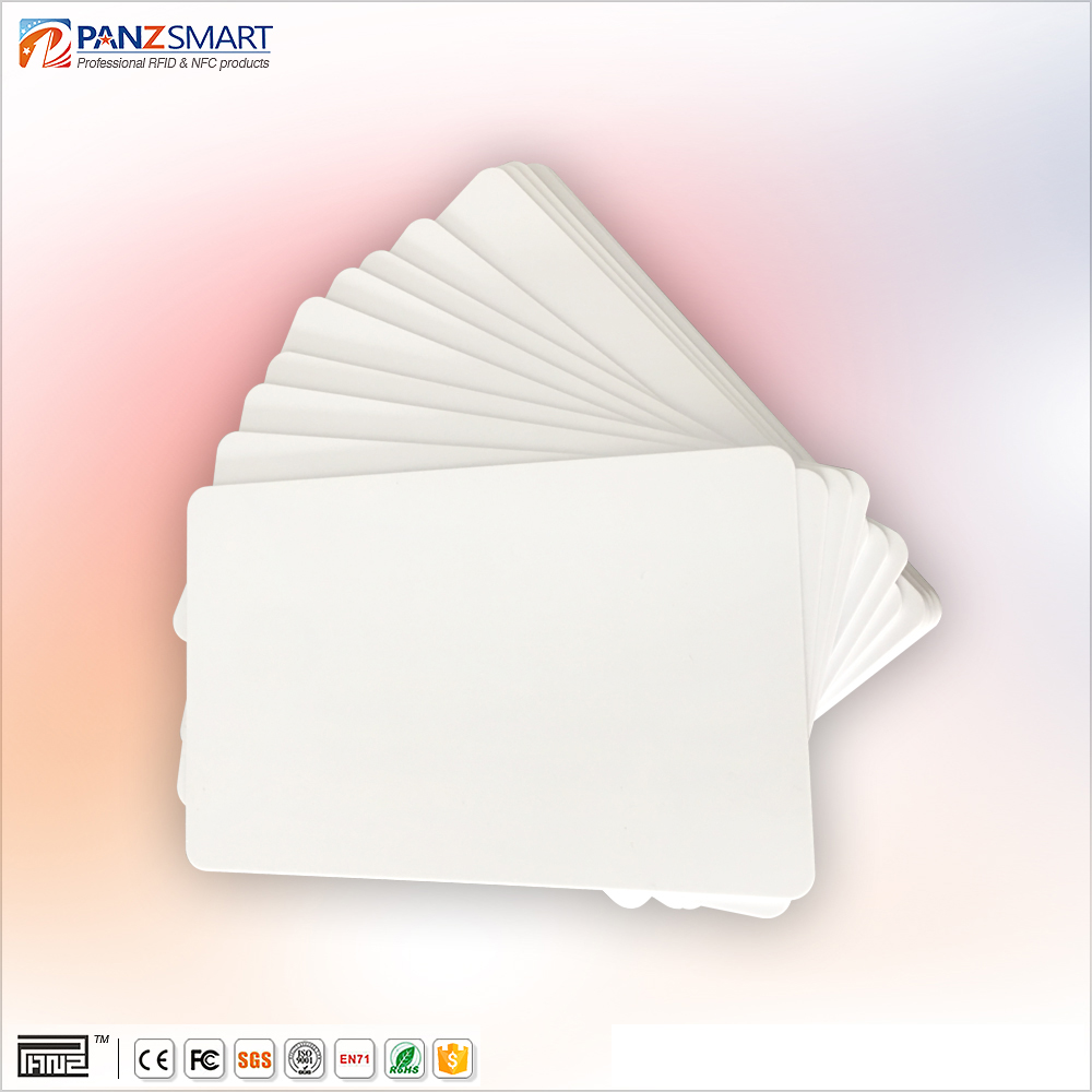 ISO standard 900MHz rfid pvc blank cards printer photo id card for student school Card system