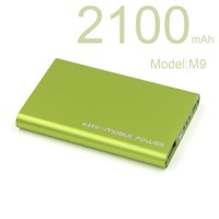 2100mAh Power Bank Charger Portable USB Backup External Battery for Cell Phone for Cell Phone