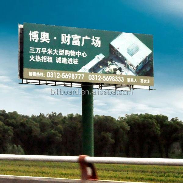 Outdoor Advertising City Billboard Triple Monitor Led Display ...