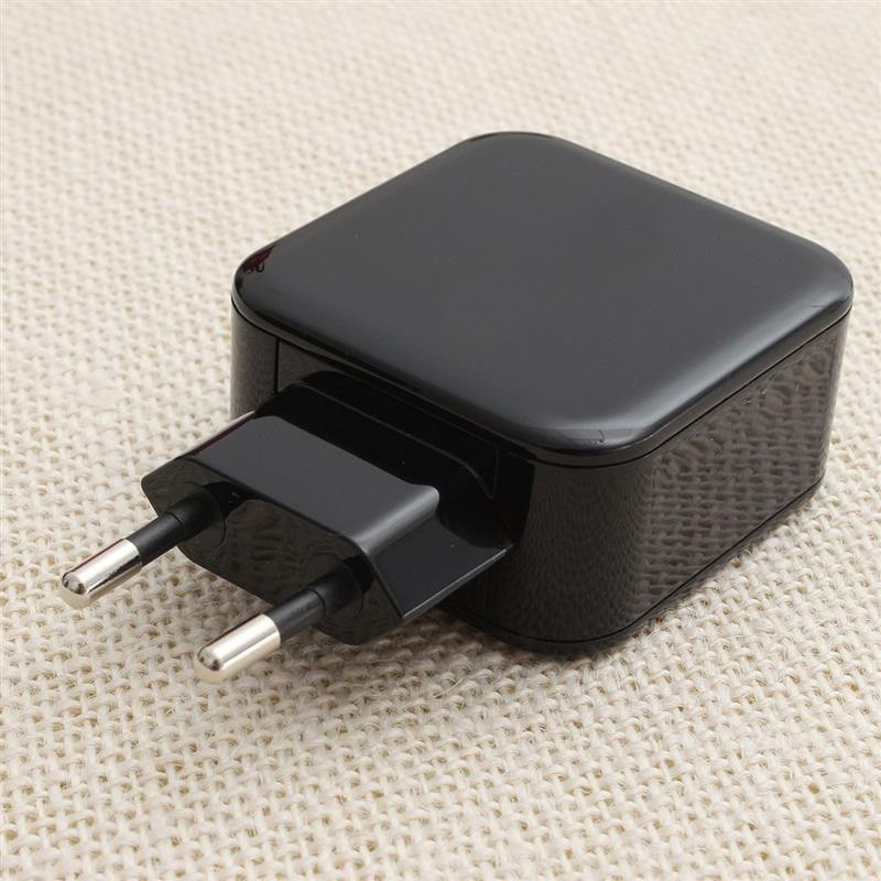 dual usb EU plug trave charger 4.8A for iPhone/iPad and Samsung