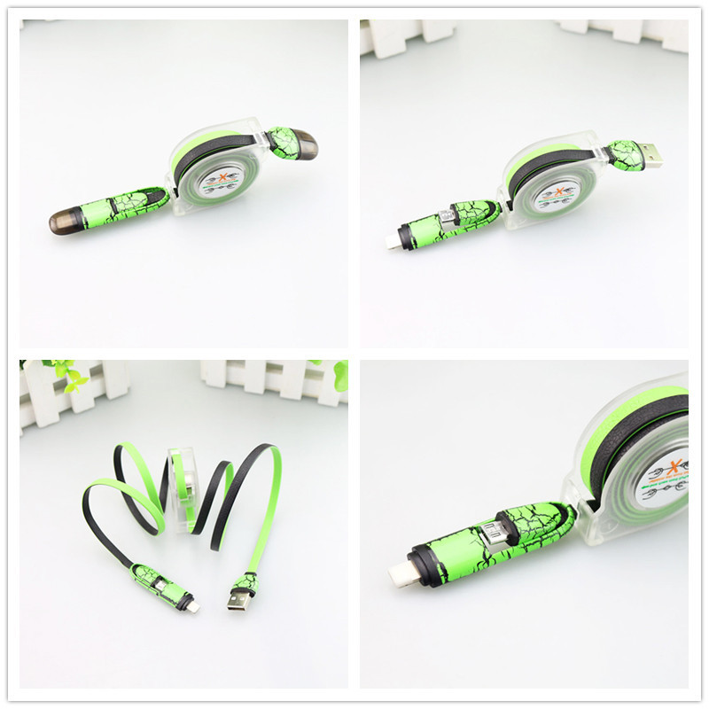 scalable micro usb cable usb data line for smart phone