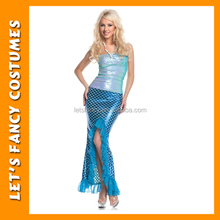 PGWC1249 Cheap Price Wholesale Beautiful Mermaid Fancy Dance Clothes Sexy Women Party Cosplay Costumes