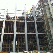 Peb steel structure for residential building