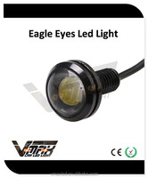 factory best sellers12V 1W 23mm White/Blue/Red/Yellow/Green daylight lamps cheap driving lights eagle eye lights review
